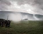 Gun smoke fills McLemore's Cove during a reenactment of the Battle of Chickamauga, Ga. 2013