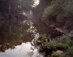 Dark and deep the Chickamauga Creek at Alexander Bridge. 2013.