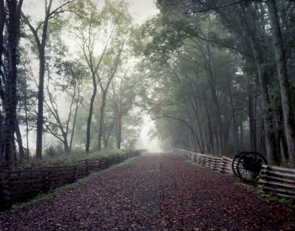 Morning fog envelopes the Battlefield at Stones River in Murfreesboro, TN, 2013