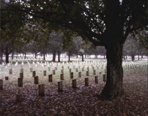 National Cemetery at Stones River Battlefield. 2013