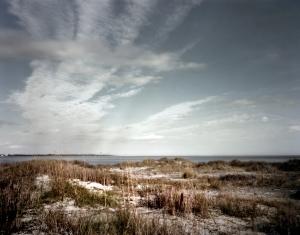 The battleground on Morris Island, SC 2013