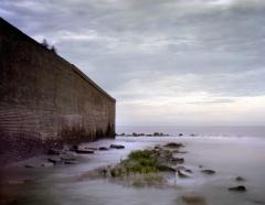 Rubble still surrounds Fort Sumter