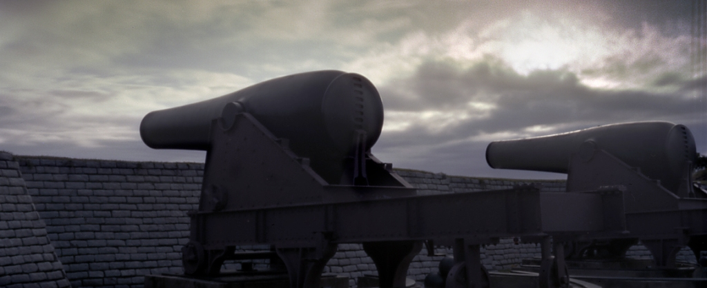 Coastal guns at Fort Moultrie, Sullivan Island, SC 2013