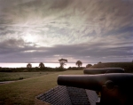 Guns protecting Charleston Harbor at Fort Moultrie on Sullivan Island, SC 2013