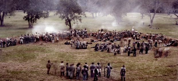 Reenactment of the Battle of Fort Wagner at Boone Hall Plantation, SC 2013