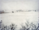 Winter storm JANUS envelopes the Battlefield at Gettysburg 2014