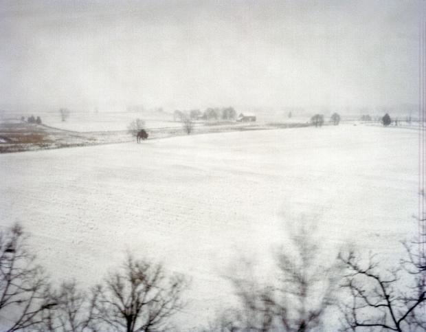 Winter storm JANUS envelopes the Battlefield at Gettysburg 2014