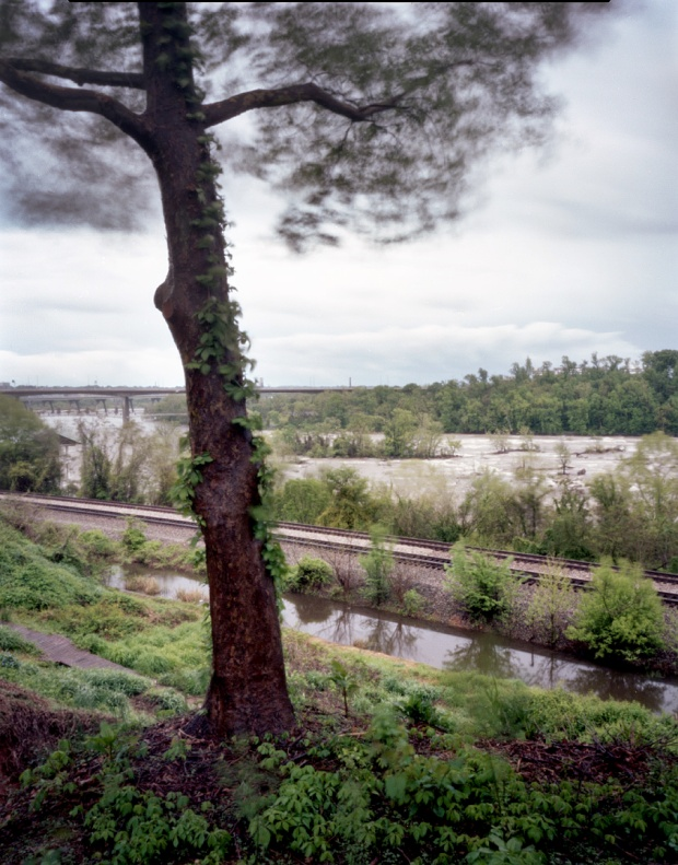 Hollywood Cemetery in Richmond looks out over the James River 2014