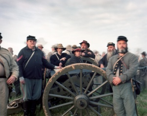 Cannoneers in Spotsylvania 2014