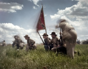Confederates prepare for the Union assault at Spotsylvania 2014