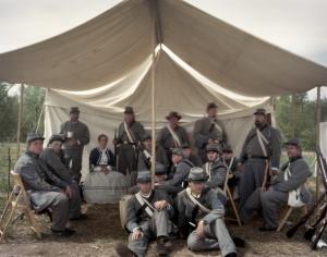 Reenactors in Spotsylvania 2014