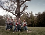 Zouaves of the 146th New York Regiment in Spotsylvania County, Virginia 2014