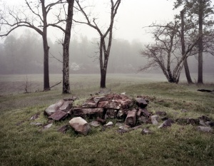 Ruins of the Harrison House at Spotsylvania 2014