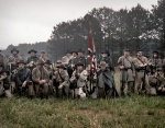 Confederate reenactors at Resaca, Ga 2014