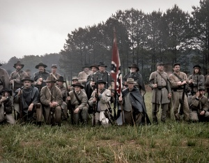 Confederate reenactors at Resaca, Ga 2014