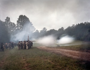 Reenactment of the Battle of Resaca, Ga 2014