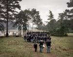 Union reenactors enter the fray at Resaca, Ga 2014