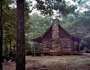 Wilderness cabin on the Battlefield at Pickett's Mill