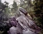 Rock formations at Dug Gap 2014