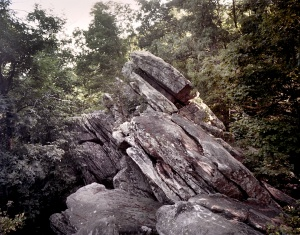 Rock formations at Dug Gap 2014