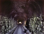 Finished in the 1850s the old railroad tunnel at Tunnel Hill is the longest in the south