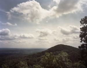 Little Kennesaw Mountain from Big Kennesaw, Ga 2014