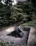"""""""The Dictator"""" a giant Union mortar used during the Siege of Petersburg"""
