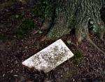 Unknown Civil War soldiers' grave at Poplar Grove National Cemetery near Petersburg, Va 2014