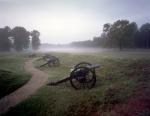 Morning fog at Fort Stedman on the Petersburg Battlefield, Va 2014