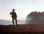 Reenactor at dawn in Henrico, Va 2014