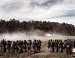 USCT troops engage Confederates in Henrico, Va 2014