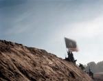 Union reenactors assault a replica of Fort Harrison in Henroico, Va 2014
