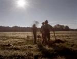 Reenactors dig rifle pits in Henrico< va 2014