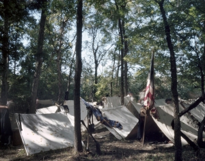 Camp tents in Henrico, Va
