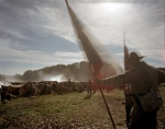 Confederates fight from behind earthworks in Henrico, Va 2104
