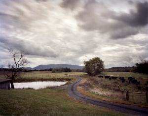 Manhatuuten Mountain overlooks the Battlefield at Cedar Creek in Middleton, Va