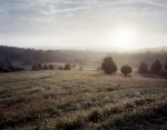 The Confederate point of view on the Battlefield at Fisher's Hill, Va 2014