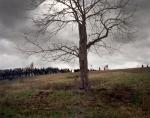 Reenactors line the hills at Cedar Creek 2014
