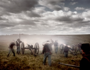 Union guns at Cedar Creek 2014