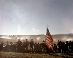 Union and Confederate reenactors clash in the Shenandoah Valley in 2014