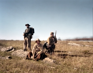 Confederate reenactors at Cedar Creek 2014