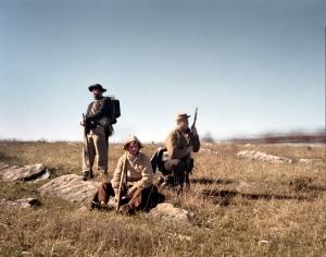 Confederate reenactors at Cedar Creek 2014
