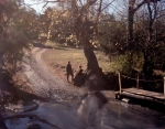 The Meadow Brook runs its course through the Belle Grove Plantation and formed a natural defensive position during Battle of Cedar Creek