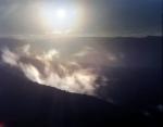 Clouds form in Shenandoah National Park