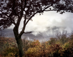 Above the clouds in Shenandoah National Park