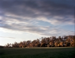 The rising sun illuminates the 3rd Winchester Battlefield 2014