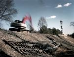 Track repairs near Briswoldville, Ga