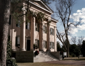 The Governors Mansion in Milledgeville, Ga