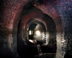 Interior of Fort Pulaski, Savannah, Georgia 2014