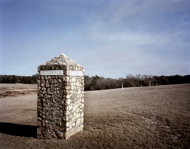The stockade boundary and deadman's line at Andersonville 2014